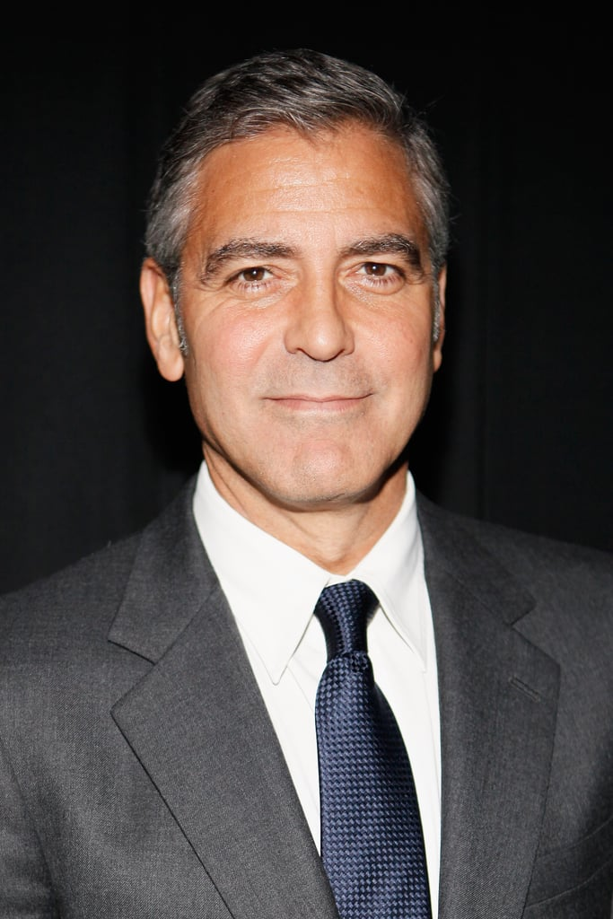 George Clooney was happy to premiere The Descendants in NYC.