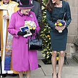 """The Queen: """"Getting a Little Close There, Dear."""""""