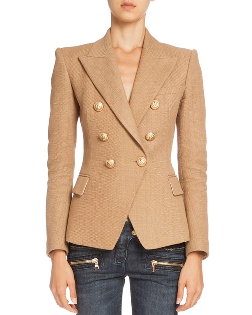 Balmain Double-Breasted Jacket ($2,385)