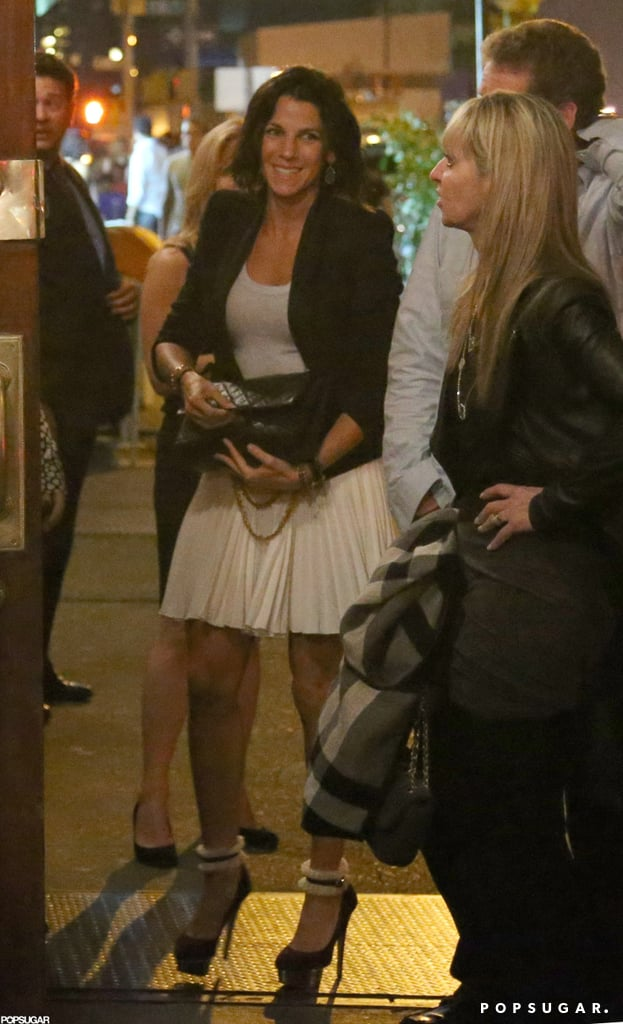 Jessica Seinfeld arrived to celebrate Gwyneth Paltrow in NYC.
