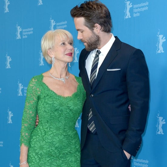 Helen Mirren Flirting With Celebrities