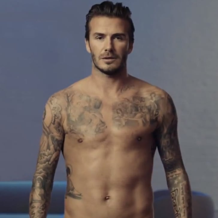 beckham commercial David