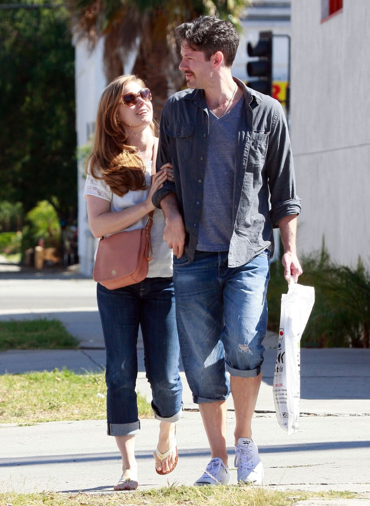 Amy Adams Looks Loved-Up During an Afternoon Out With Her Man