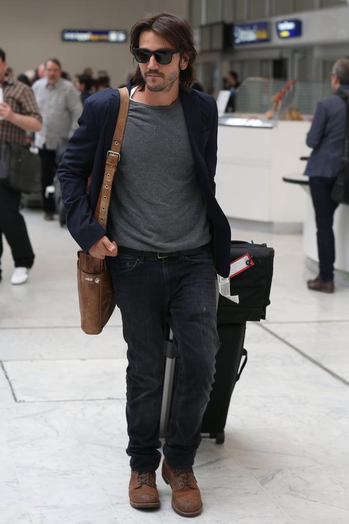 Diego Luna and Gael Garcia Bernal Arrive at Cannes 2016