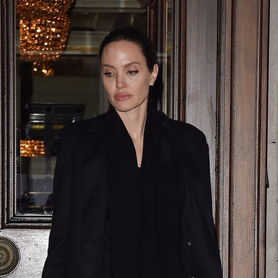 Angelina Jolie Wearing Black Boots March 2017