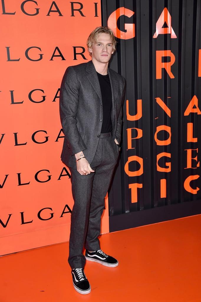 Cody Simpson at the Bulgari Party at New York Fashion Week