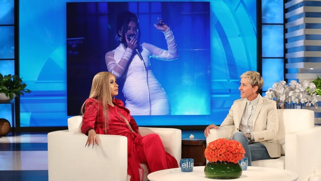 Cardi B Made Her Ellen Show Debut