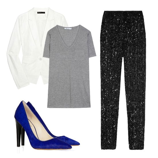 How to Wear a White Blazer For Fall