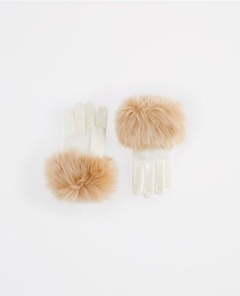 Ann Taylor Faux Furr Cuff Gloves ($40)