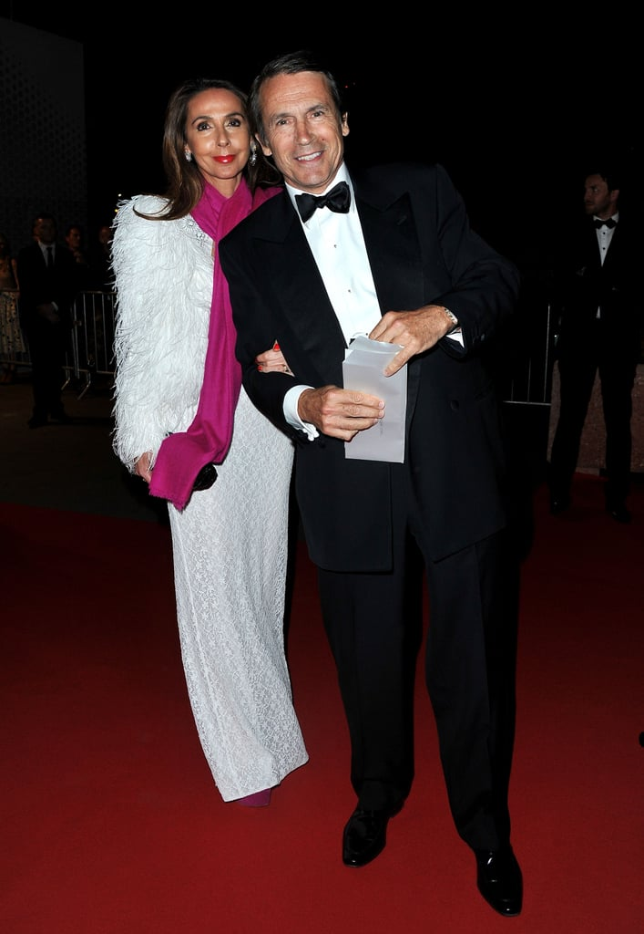 Jean-Jacques Lebel and his wife, Isabelle Lebel, walked into the opening night dinner of the Cannes Film Festival.