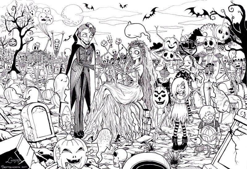 Zombies Printable