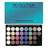 Makeup Revolution Mermaids Forever 32-Piece Eye Shadow Palette