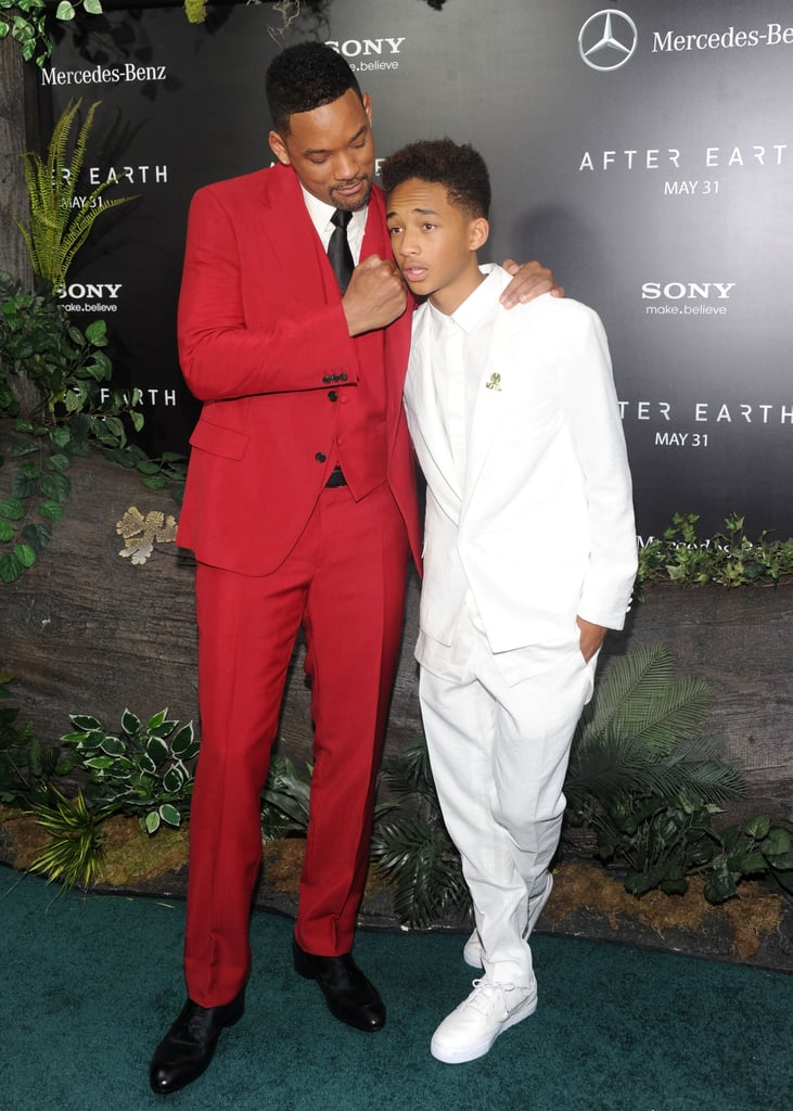 Will Smith and Jaden Smith premiered After Earth in NYC.