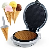Waffle Cone Maker With Cone Form