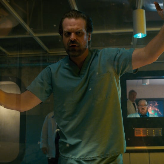 David Harbour Tweets About His Dad Bod