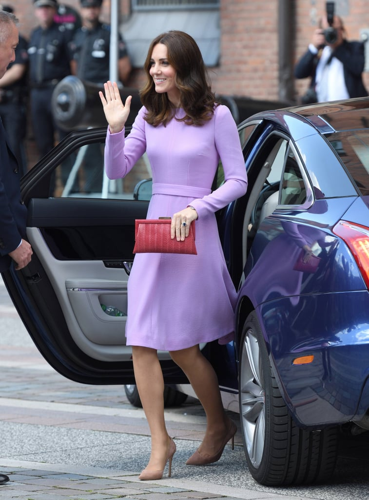 It's a Fact That Kate Middleton Looks Good in Every Color, Especially in Lavender
