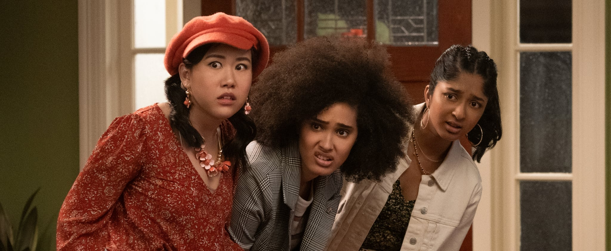 Not Over It Podcast: We Chat With Never Have I Ever's Lee Rodriguez and Ramona Young