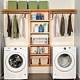 Solid Wood Laundry Room Organiser