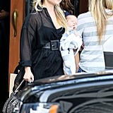 Ali Larter Takes Baby Theodore to Lunch — Check Out the Cuteness!