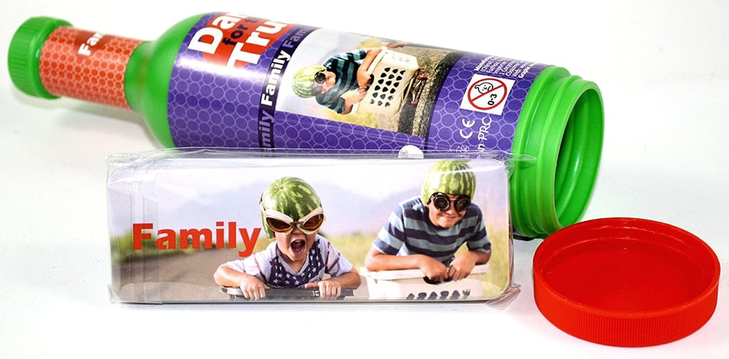 The Purple Cow Dare For Truth Family Spin the Bottle Game, Family Edition