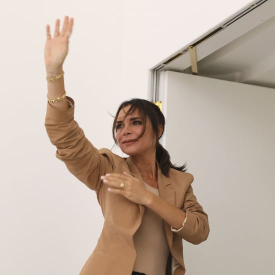 Victoria Beckham Dancing to Spice Girls at LFW 2018