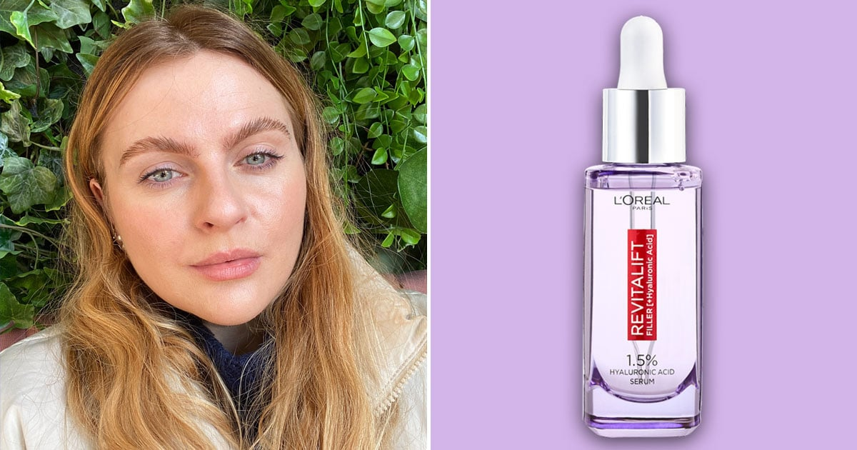 L'Oreal Paris's Bestselling Hyaluronic Serum Made My Skin Softer and My Fine Lines Less Obvious