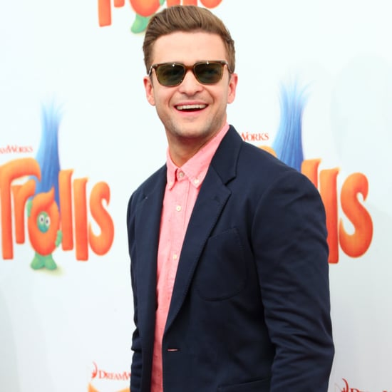 Justin Timberlake at Trolls Premiere in LA October 2016