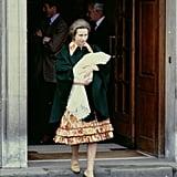 Zara Phillips, May 1981