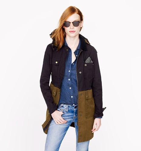We've found the perfect everyday kind of outerwear in this Colorblock Field Jacket ($198).