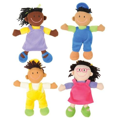 Kaplan Early Learning Company Cultural Awareness Soft Dolls
