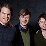 Michael C. Hall, Dane DeHaan, and Daniel Radcliffe — the gentlemen of Kill Your Darlings — represented the film at Sundance.