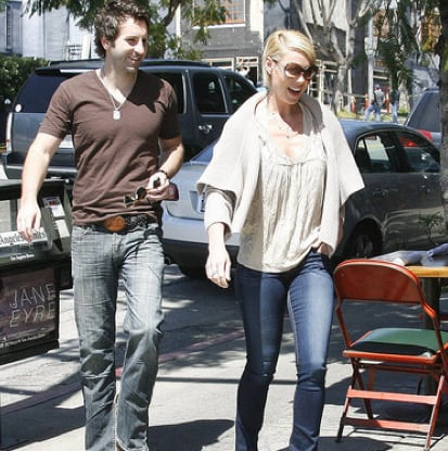 Pictures of Josh Kelley and Katherine Heigl Grabbing Lunch in LA