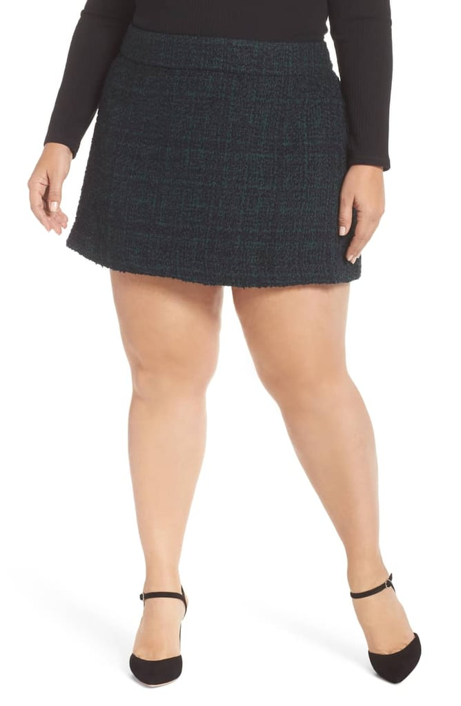 Leith Tweed Miniskirt