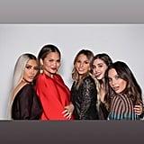 Kim Kardashian and Kanye West at Ellen's Birthday Party 2018