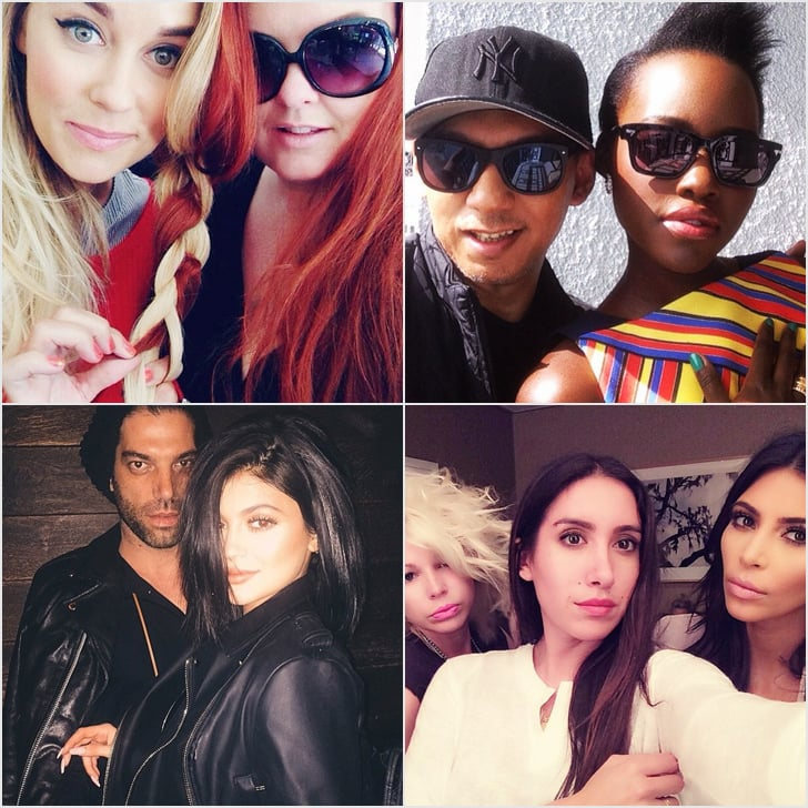 Celebrity hairstylists and makeup artists on instagram popsugar these beauty cliques dominated hollywood in 2015 urmus Choice Image