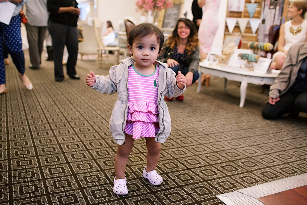 A pint-size attendee enjoyed herself. Photo by Ettevy Photography