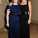 Emily Blunt took a photo with Janice Dixon.