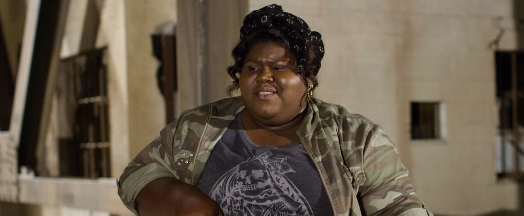 Gabourey Sidibe's Angela Basset Photo From AHS Set