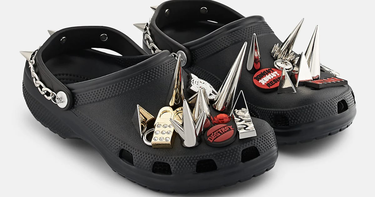 Your Trusty Ol' Crocs Got a Punk Makeover With Insane Spikes and Chains