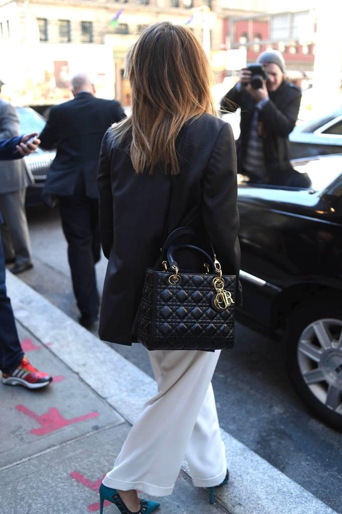 Sarah Hyland's Dior Bag in New York