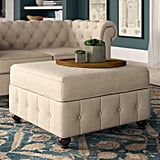Quitaque Tufted Storage Ottoman