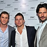 Chris Hemsworth, Channing Tatum, and Joe Manganiello hung out in NYC.