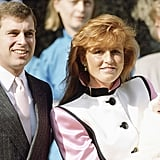 Prince Andrew and Sarah Ferguson With Princess Eugenie