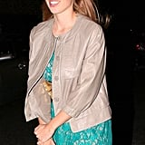 Princess Beatrice Wraps Up Her Night Out While Her Topper Picks Up Big Bids