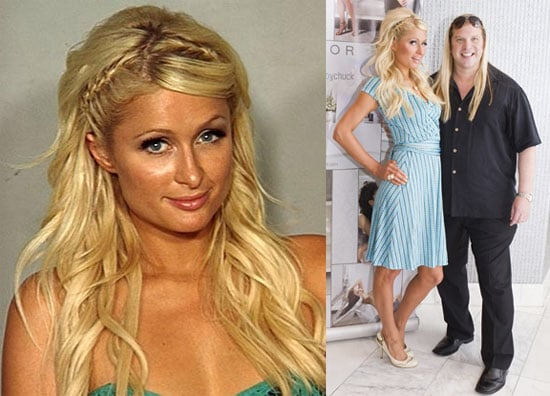 Pictures of Paris Hilton at an Event in Las Vegas Hours Before Her Arrest For Cocaine Possession