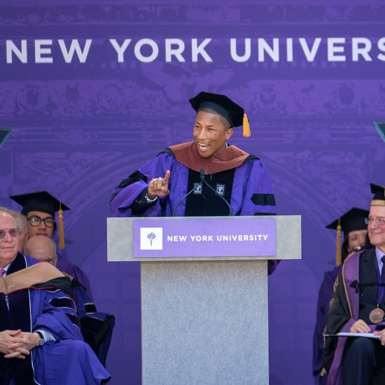 Pharrell Williams NYU Commencement Speech Video 2017