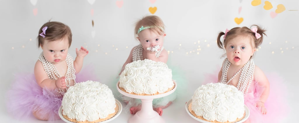Babies Born With Down Syndrome 3 Days in a Row Share an Epic Birthday Cake Smash