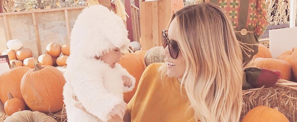 Your Heart Isn't Ready For This Snap of Lauren Conrad's Son at His First Pumpkin Patch