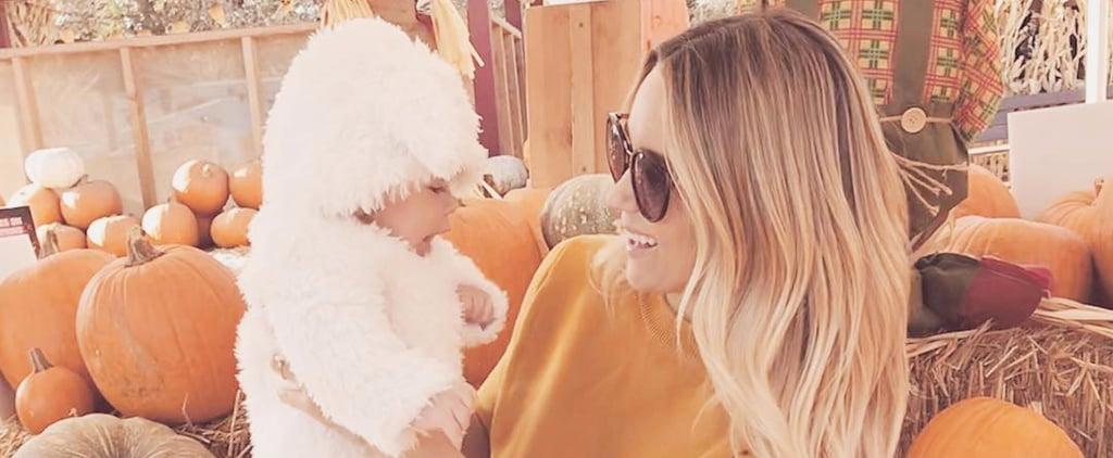 Lauren Conrad and Son Liam at Pumpkin Patch 2017