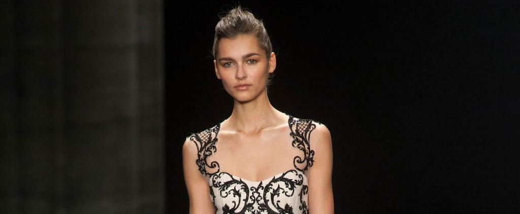 Monique Lhuillier Fall 2014 Runway Show | NY Fashion Week